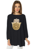 Hamsa Bishop Sleeves Long Top (5736593522842)