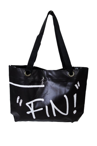 Dogo Printed Tote Bag- Peep a Boo - Gingerlining