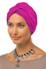Simple Knot Turban - Hot Pink - Gingerlining