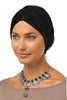 Tulle Simple Turban - Black - Gingerlining