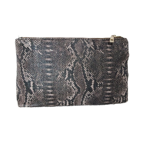 Brooklyn Two Sided Clutch In Brown