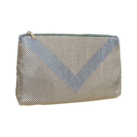 Brooklyn Two Sided Clutch In Gold - Gingerlining