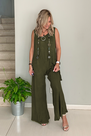 Cotton Harem Jumpsuit (5714700402842)