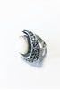 Once in a blue moon ring  – 925 Egyptian sterling Silver - Gingerlining