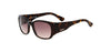 Tod's Women's Square Frame Sunglasses TO 62 52F - Brown - Gingerlining