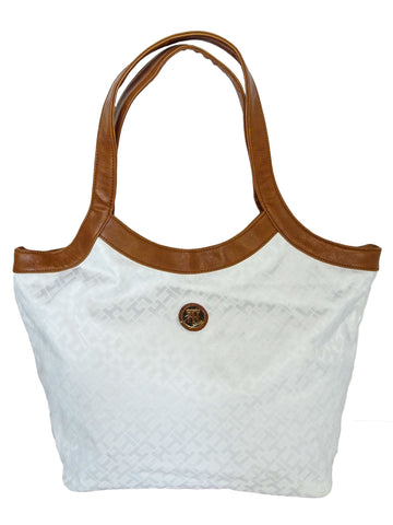 Tommy Hilfiger White Tote Bag