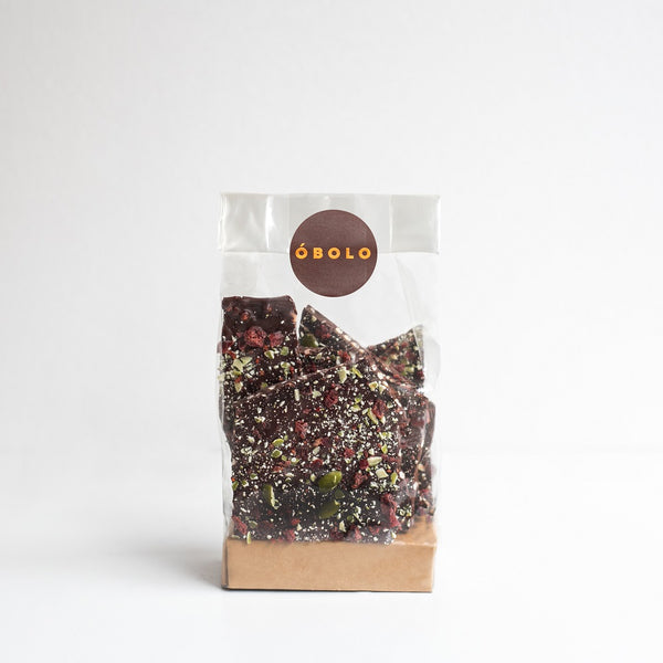 BARK  VEGAN  CRUNCH  -- 150 gr