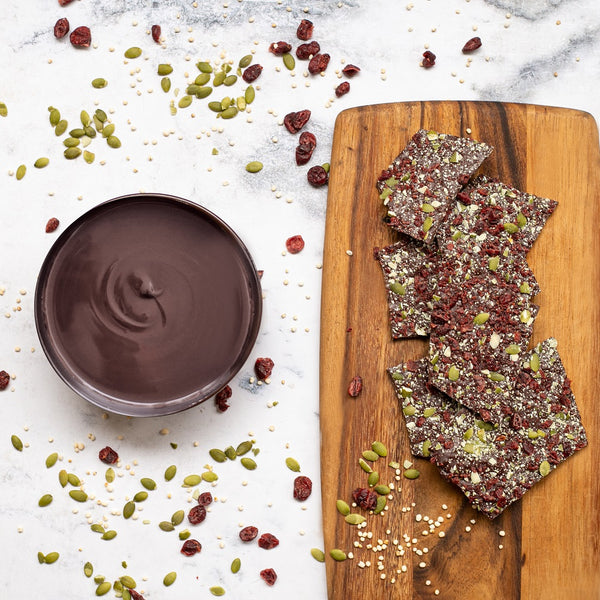 COSITAS RICAS - BARK VEGAN CRUNCH - OBOLO CHOCOLATE