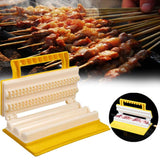 Double/Single Row BBQ Meat Skewer Tool