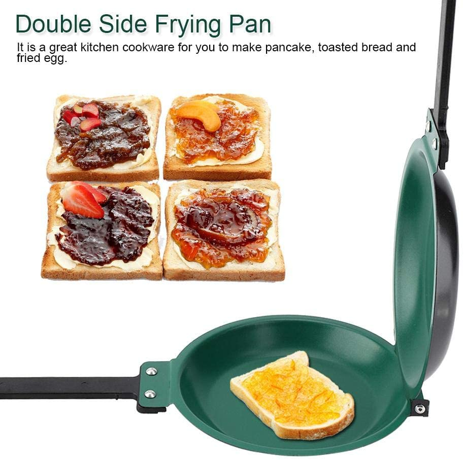 SUNMERS™Double Side Frying Pan Non-Stick Flip Folding Frying Pan(FREE SHIPPING)