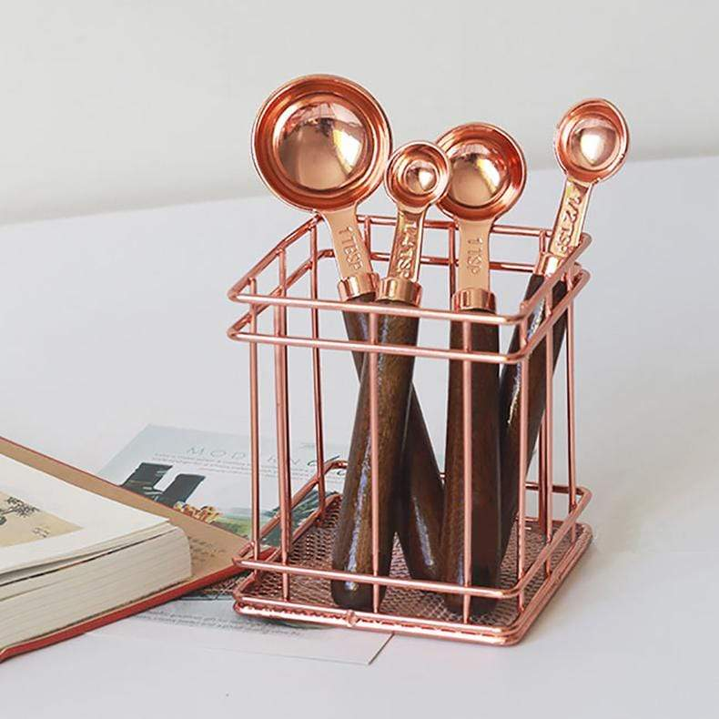 Copper Plated Measuring Set