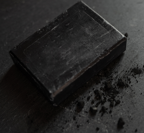 charcoal soap from Hallbar
