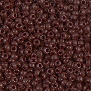 8/0-409 Chocolate Brown Opaque