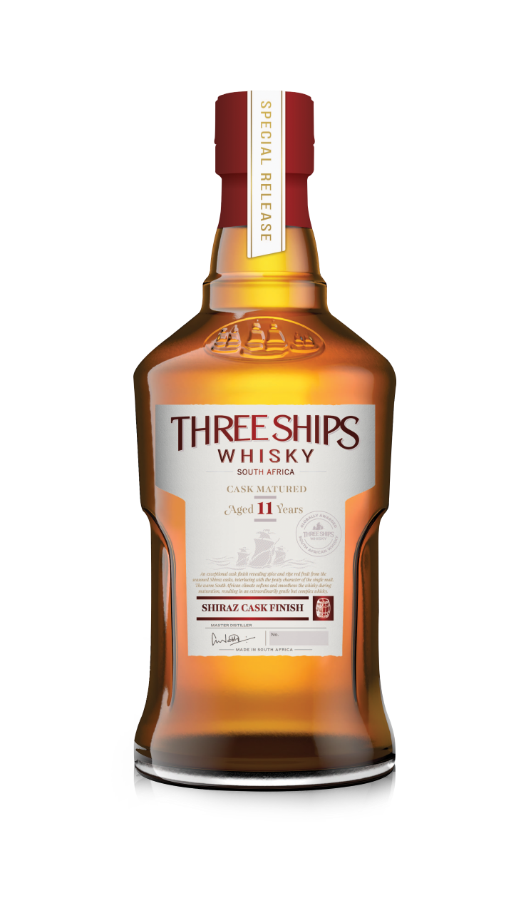 11YO Single Malt Shiraz Cask Finish