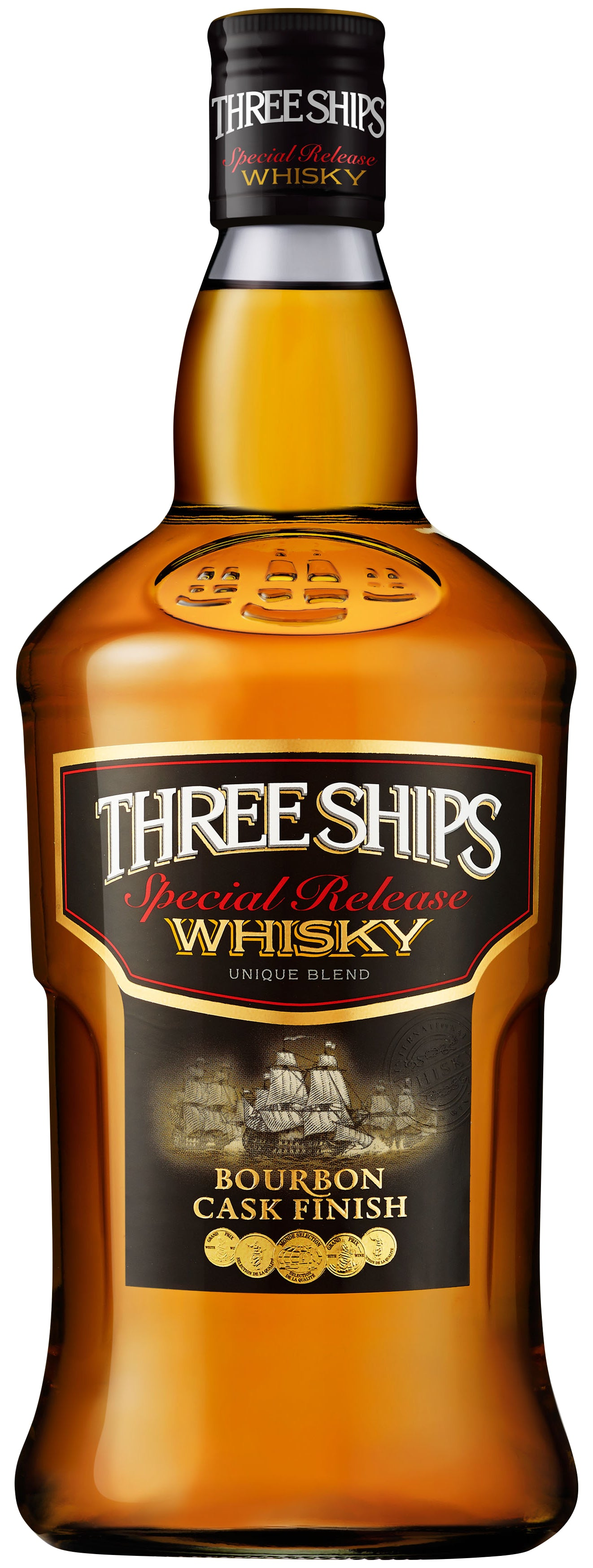 Three Ships Whisky Bourbon Cask Finish Nedbank gift box