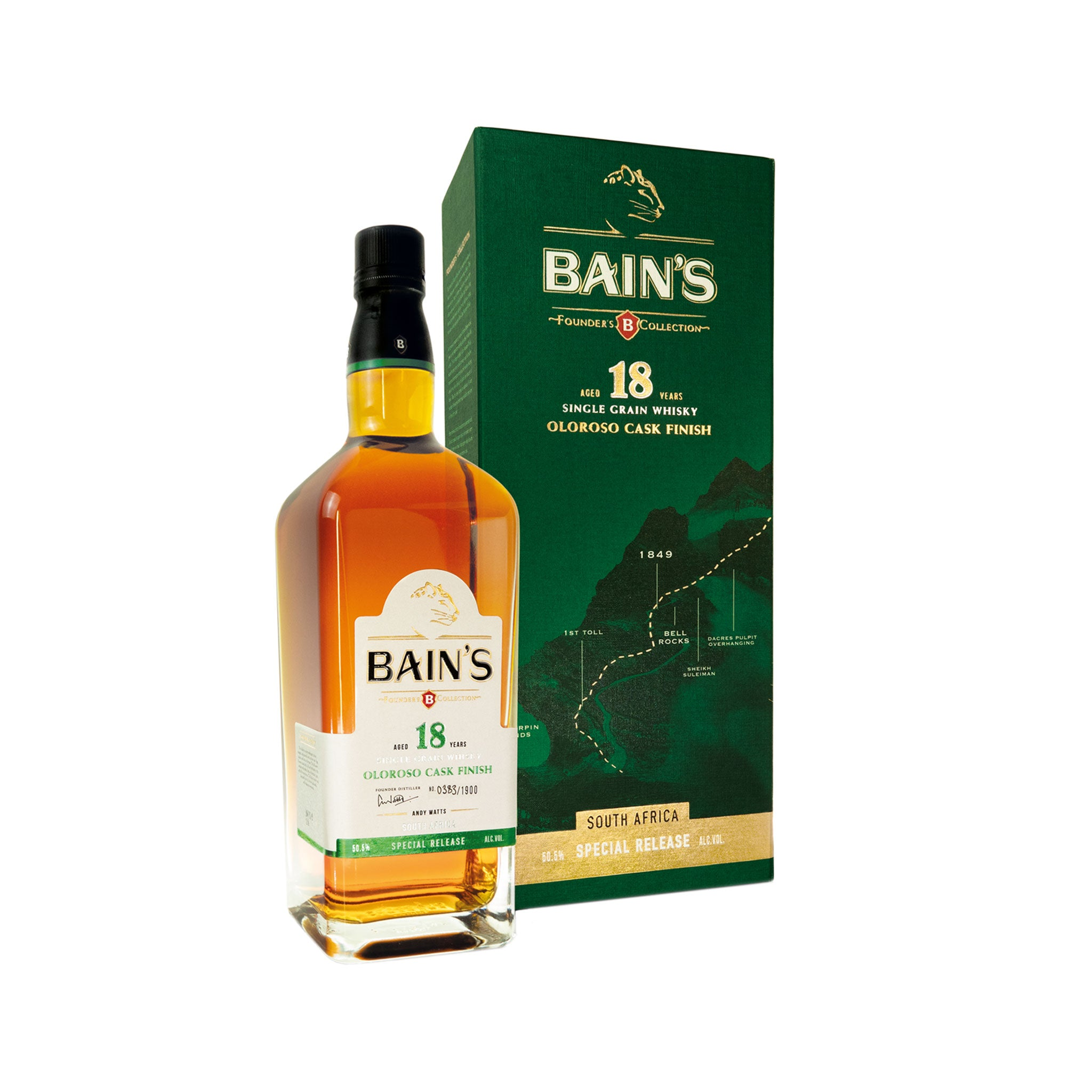 Bain's Founders Collection Whisky 18 Year Old Oloroso Cask Finish