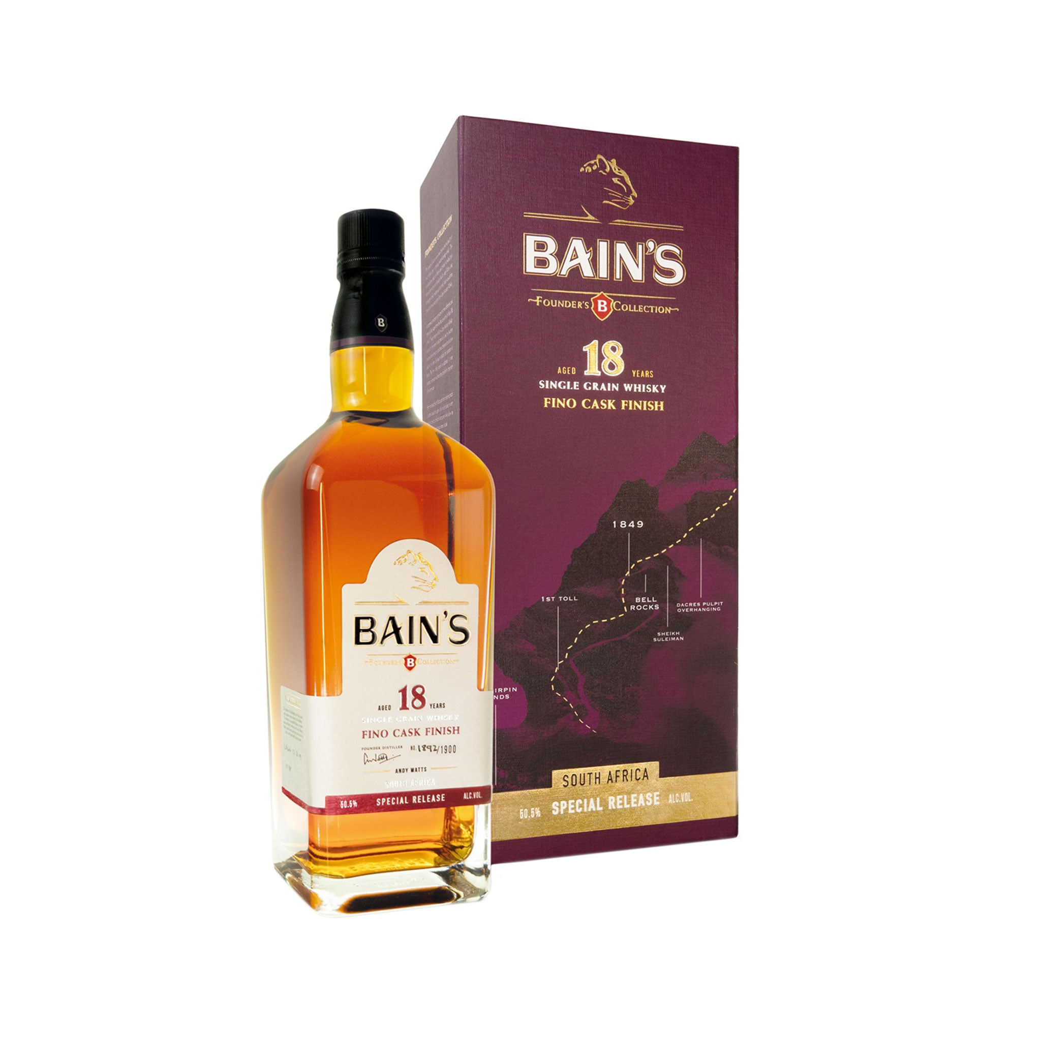 Bain's Founders Collection Whisky 18 Year Old Fino Cask Finish