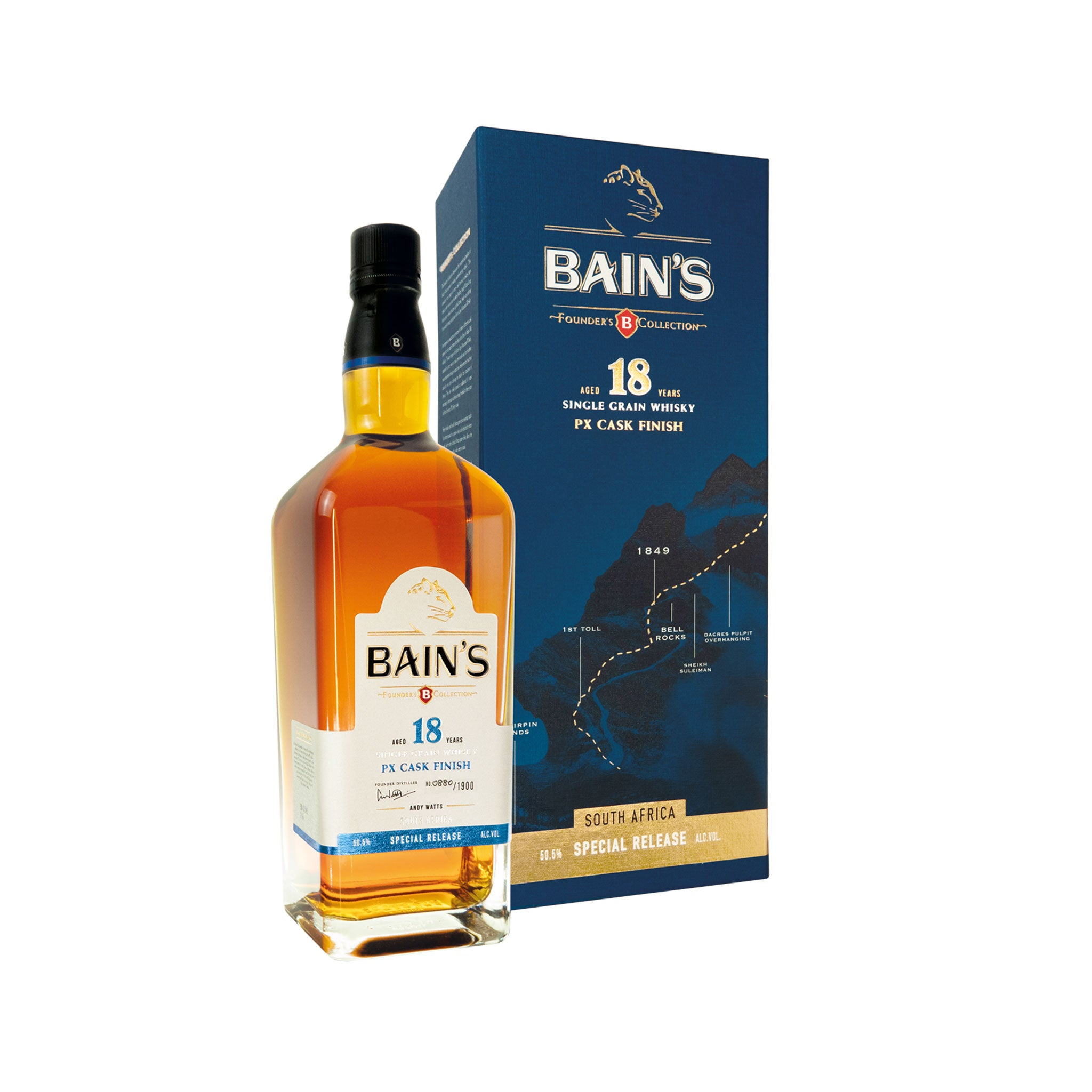 Bain's Founders Collection Whisky 18 Year Old PX Cask Finish