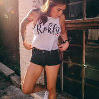 ROKFIT - THE FLUID CROP TOP