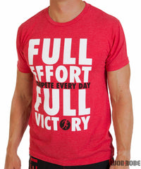 Compete Every Day- Men's T-Shirt 'full effort'