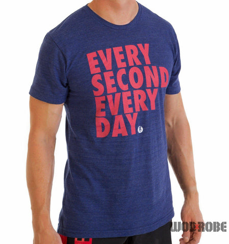 Compete Every Day - Men's T-Shirt 'Every Second'