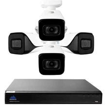 Load image into Gallery viewer, Montavue-4K Home Surveillance System w/ 4 4K Bullet Cameras - 30fps @ 4K, 2TB HDD