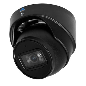 Montavue-5MP 2K IP AI SMD Starlight Turret Audio Camera (Black) - AI Functionality, Smart Motion Detect, Built-in Mic, 164ft IR Night Vision
