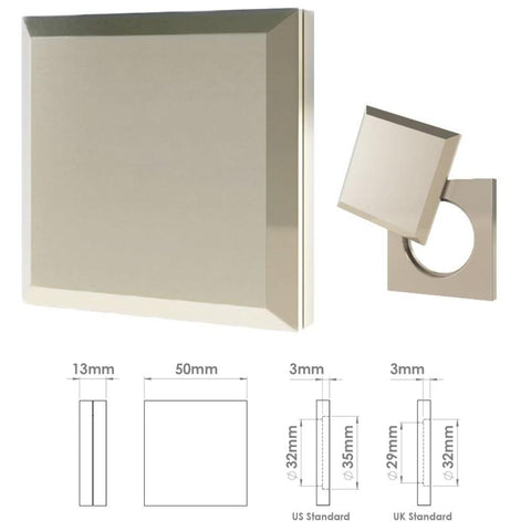 267 Square Pillow Cylinder Cover