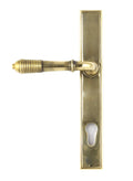 Reeded Slimline Lever Espagnolette Lockset