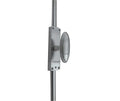 Locking Espagnolette Bolt With Small Oval Knob to Suit Maximum Door Height 2400mm c/w Allen Key Lock