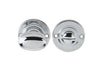 40mm Oval Ringed Bathroom Thumbturn & Release