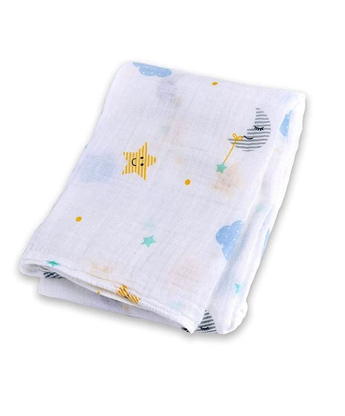 Extra Moon and Stars Muslin