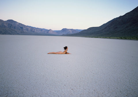Salt Flat, Death Valley, 1985, Patrick Lichfield