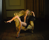 Kate Moss in Gold Chair, 2017, Mike Figgis