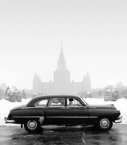 Zil at Moscow University, 1989, Patrick Lichfield
