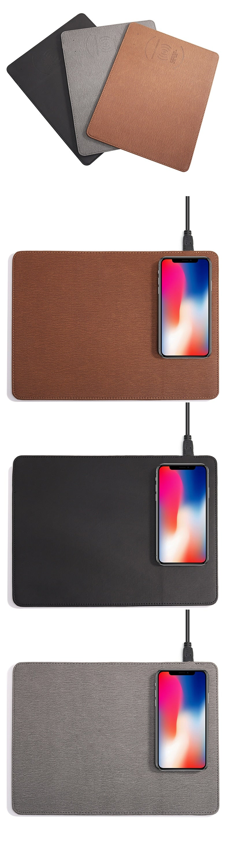 Mobile Phone Wireless Charging Mouse Pad