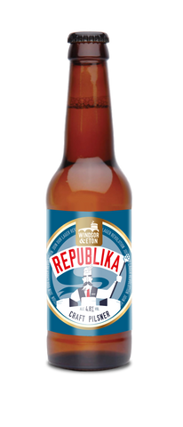REPUBLIKA - 12 x 330 ml Bottle