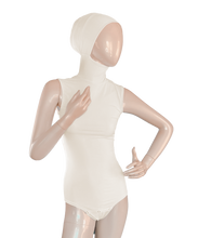 Load image into Gallery viewer, AMIRABODY HIJAB BODYSUIT SLEEVELESS - OFF-WHITE