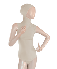 Load image into Gallery viewer, AMIRABODY HIJAB BODYSUIT SLEEVELESS - BUTTERMILK