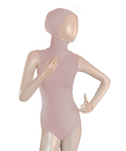 Load image into Gallery viewer, AMIRABODY HIJAB BODYSUIT SLEEVELESS - DUSTY ROSE