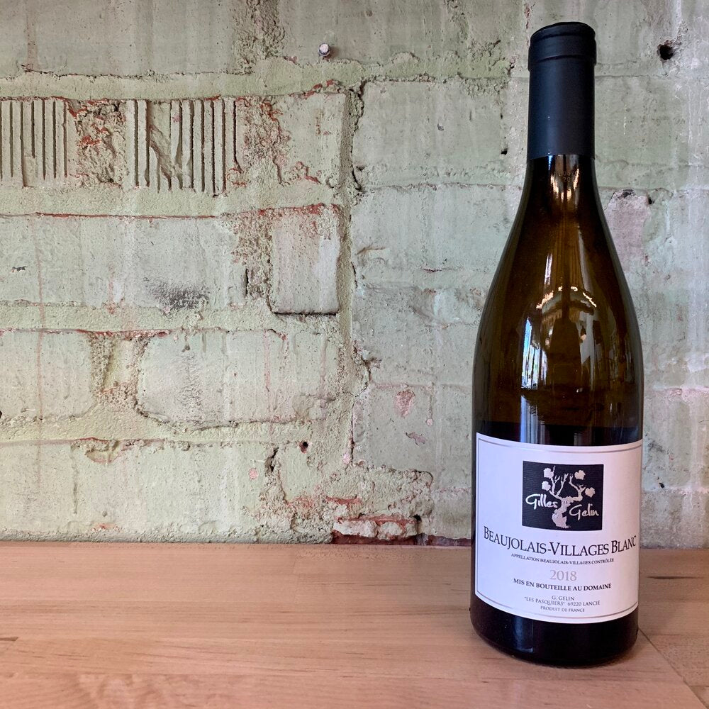 Gilles Gelin Chardonnay Beaujolais-Villages Blanc Burgundy France 2018