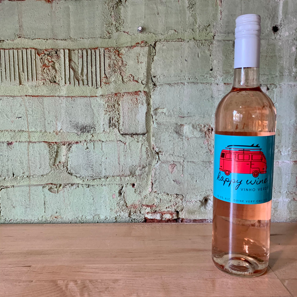 Happy Wine Vinho Verde Rosé Portugal 2019