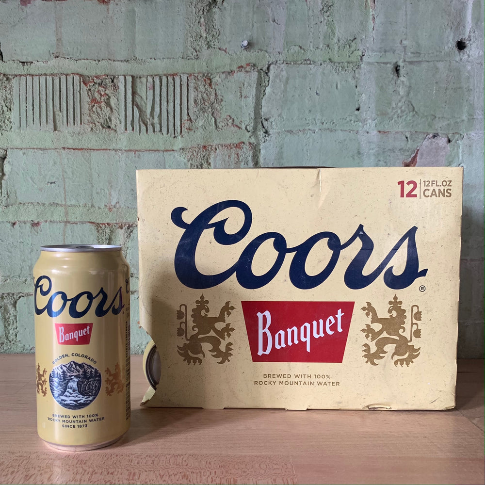 Coors Banquet Colorado 12oz Can