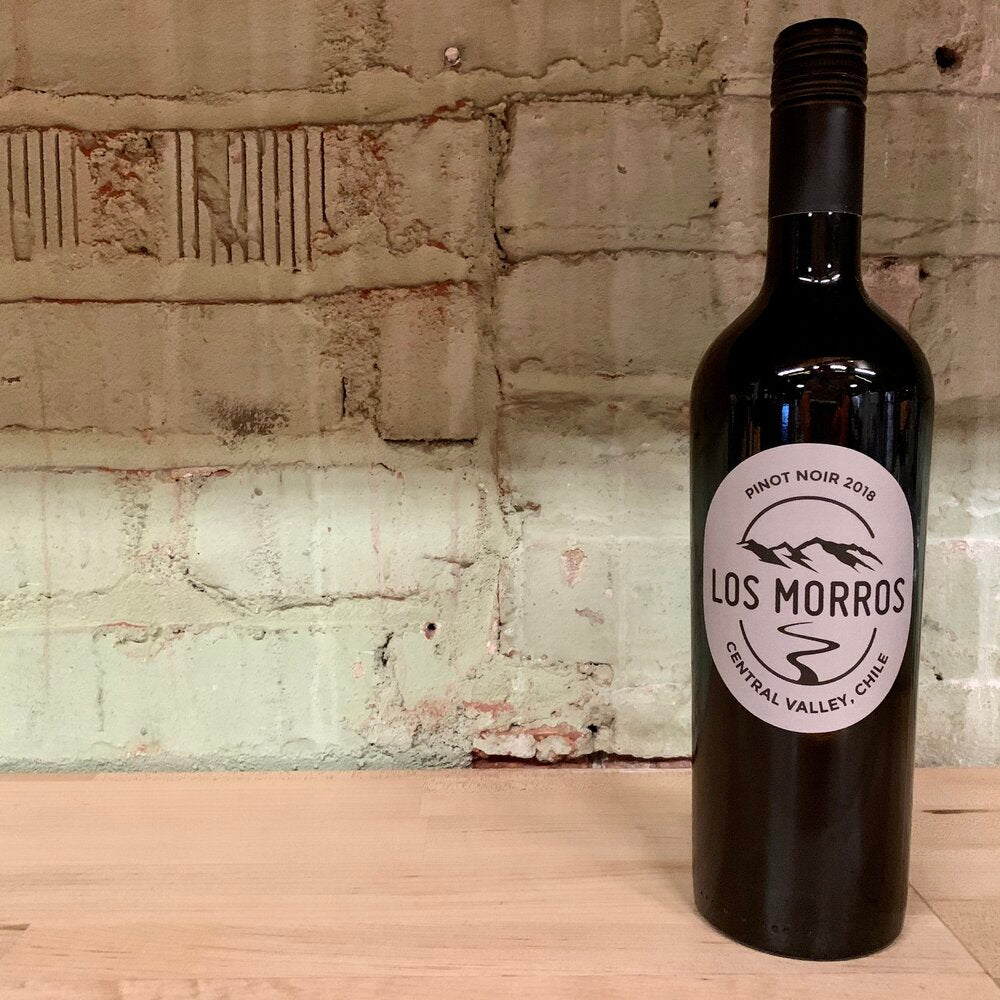 Los Morros Pinot Noir Central Valley Chile 2018
