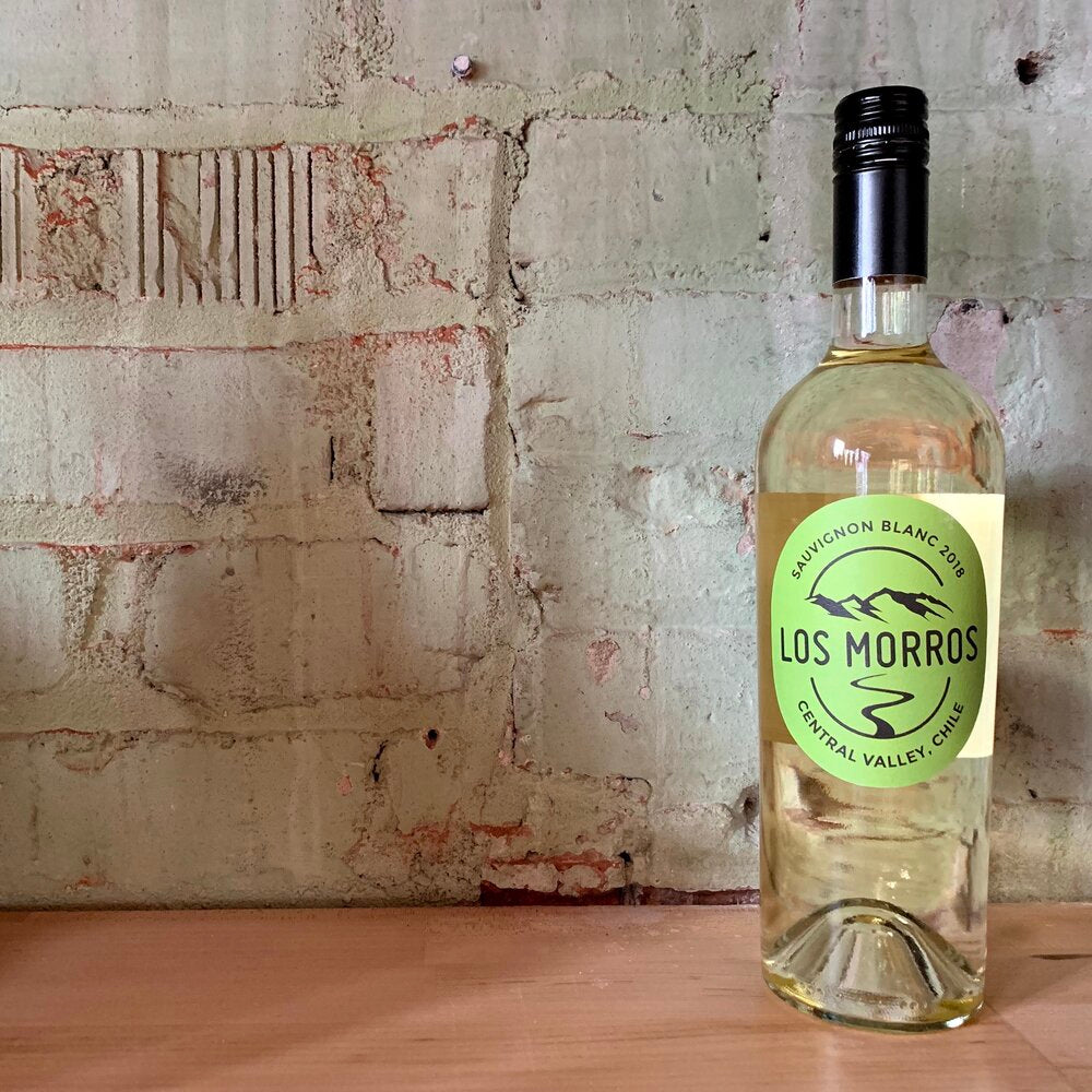 Los Morros Sauvignon Blanc Central Valley Chile 2018