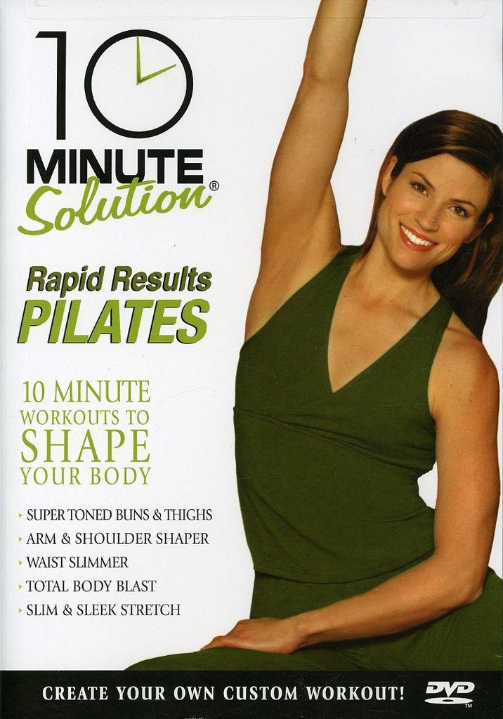 10 Minute Solution: Rapid Results Pilates - Collage Video