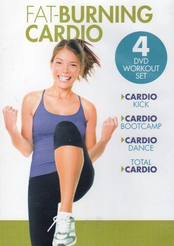 Fat-Burning Cardio (4-DVD Set)