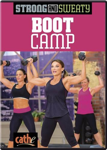 Cathe Friedrich's Strong & Sweaty: Boot Camp - Collage Video