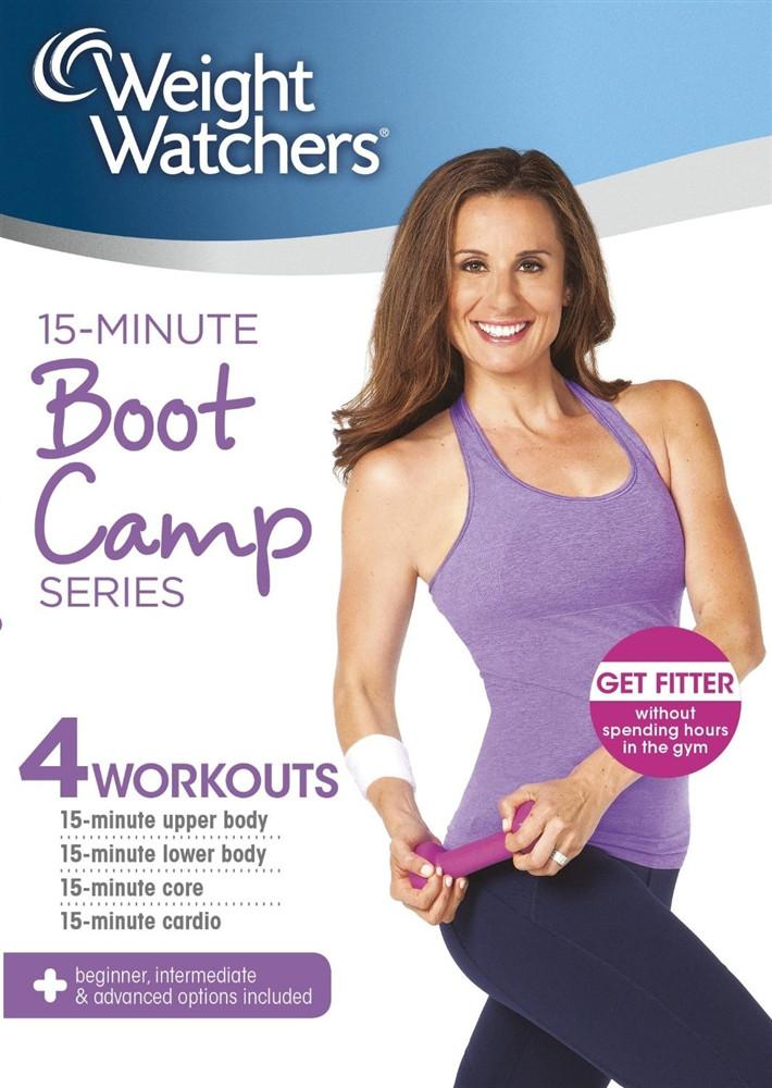 Weight Watchers 15-Minute Boot Camp Series - Collage Video