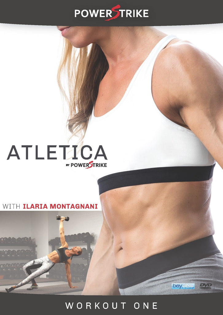 ATLETICA BY Powerstrike Vol. 1 with Ilaria Montagnani - Collage Video